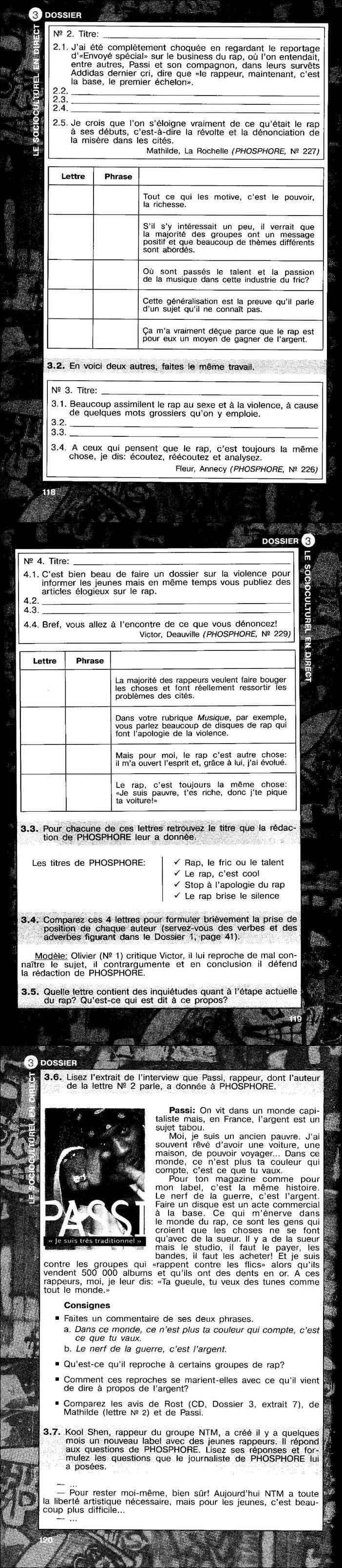 читать французский язык 11 класс сборник упражнений бубнова